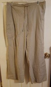 ❤️ SB Scrubs Tan pants Size 2X
